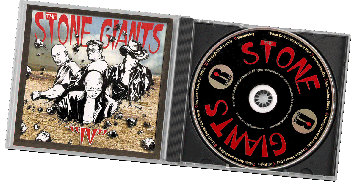 The Stone Giants CD case IV